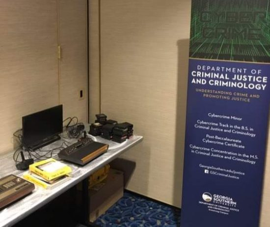 Display Table at ASC 2018 Consortium on Cybercrime