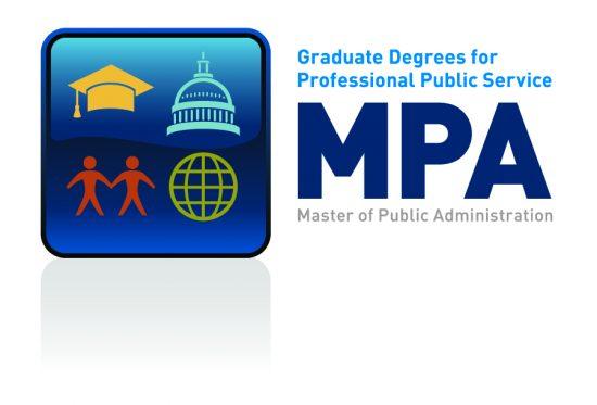Graduate Degrees for Professional Public Service. MPA