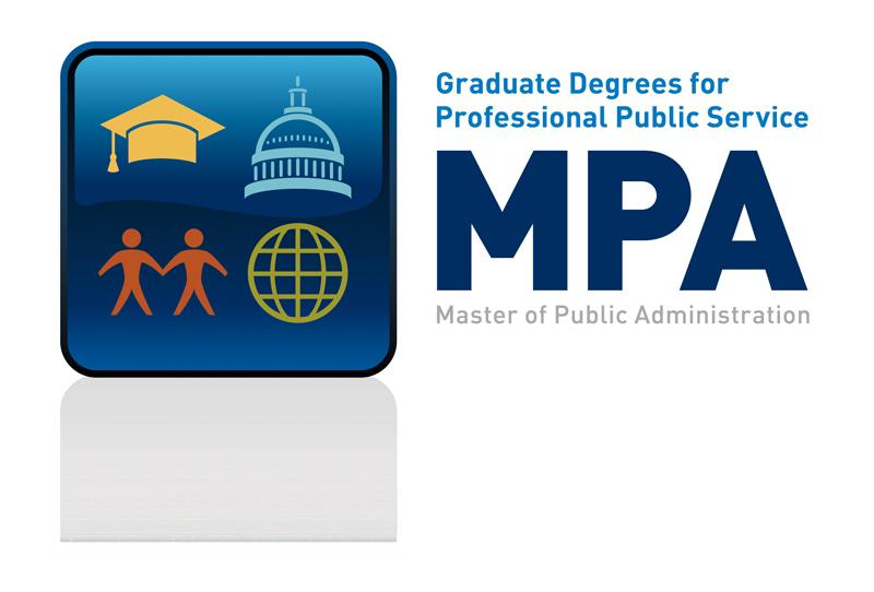 Graduate Degrees for Professional Public Service MPA Logo