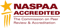 NASPAA Accredited The Commission on Pear Review & Accreditation