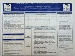 Undergraduate Research Poster