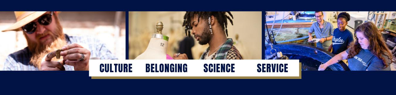 Culture. Belonging. Science. Service.